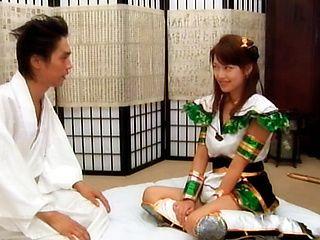Pretty Japanese model is a lovely teen
