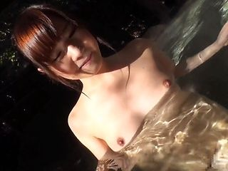 Nice Asian girl with perky boobs Miko Hinamori suck cock gets banged on pov