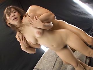 Busty Japanese babe Kumi Nagano squirts before hardcore banging