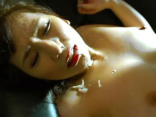 Busty office lady Sayuki Kanno gets involved into a hardcore sex session