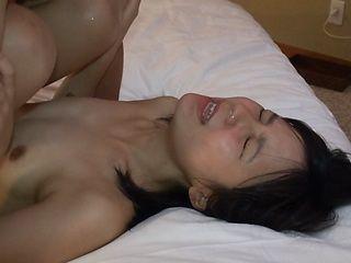 POV hardcore scenes with small tits Masami Honda