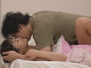 Busty Harumi Sana licked and banged to intense climax