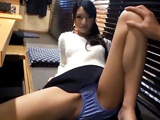 Lovely Rinon Miyazaki thrilling sex after dinner