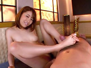 Arisu Miyuki plays with cock in full POV oral