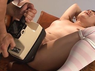 Tusbasa Misaki gets fucked with toys and jizze on face