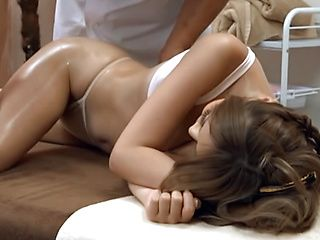Nasty massage for amateur Japanese milf Moka