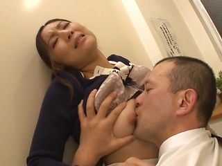 Nasty hardcore fuck with Asian milf Akari Asagiri
