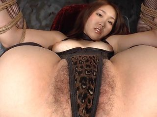 Glorious sex doll Tamari You gets her wet pussy ready for toying