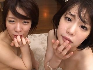 Airi Suzumura and her girlfriend have enormous sexual appetite