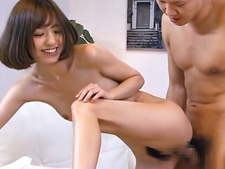 Stunning Aino Kishi bends over for a nasty plowing
