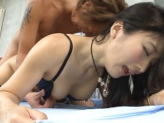 Hot babe Tomoda Ayaka gets rammed well