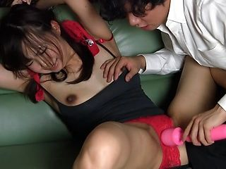 Tall Japanese milf Shuri Matsuno gets seduced and fucked by a cute guy
