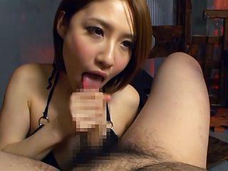 Risa Mizuki wants a taste of thick jizz