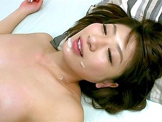 Naughty Asian milf Yuki Ooe does more than study with guy