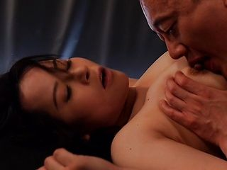 Juicy Japanese milf Narumi Takasaki rides cock gets wet