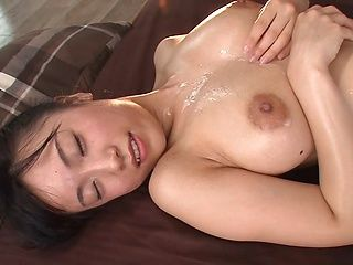 Wild Nagase Asami oiled and fucked hardcore