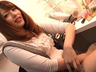 Ayu Sakurai Asian amateur makes magic with her warm lips