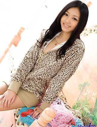 Aino Kishi Lovely Asian Model Ready For Anything