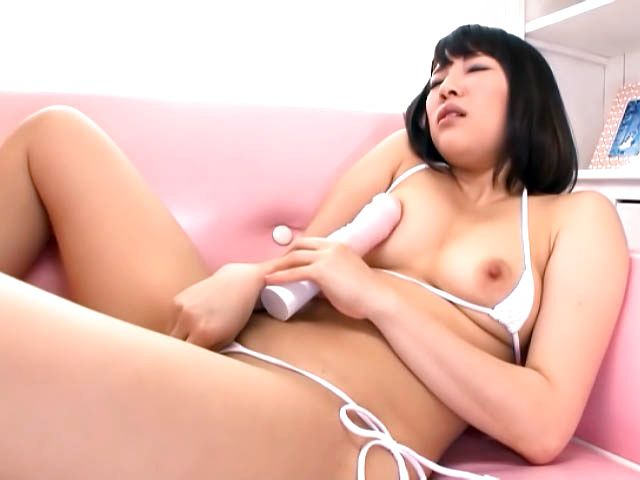 Yuri Sato naughty Asian babe in solo toy insertion