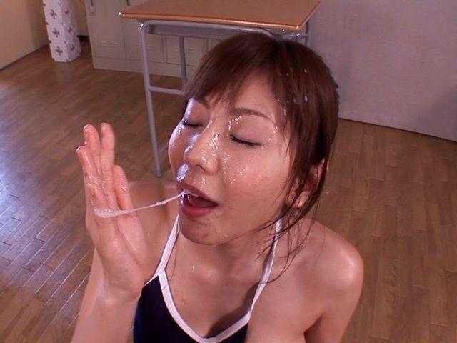 Yuma Asami enjoys a sensual hardcore shag