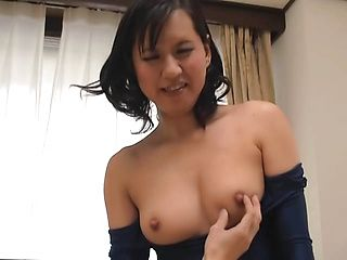 Naughty mature Asian wife gives hubby quite a work out
