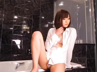 Yuu Asakura Asian milf is talented when it comes to a fucking