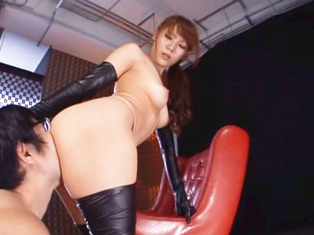 Busty Ria Horisaki likes a from behind fuck