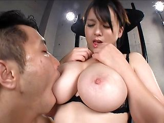 Airi minami gets one cock in her mouth and 10