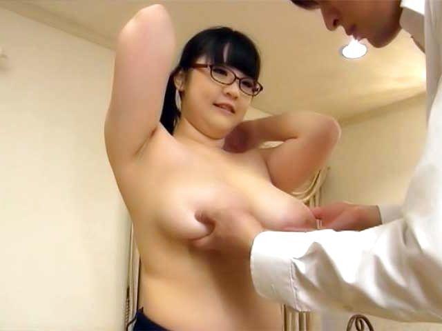 Wild nurse has got huge sexy boobs