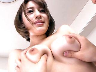 Arousing Asian milf Riko Honda gets her pussy creamed