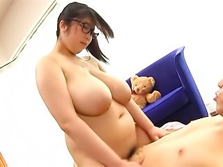 Japanese milf amazing titjob porn in serious manners