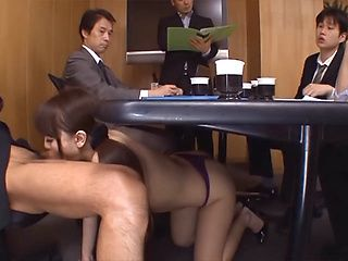 Busty asian nurse gets drilled hard 1