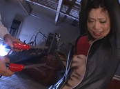 Eccentric Asian lady Hikari Hino gets tied up and teased with toys