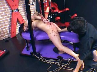 Chika Kazano Asian babe is addicted to bondage sex