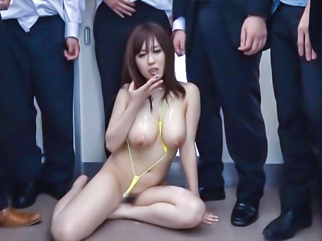 Nana Aoyama Office milf gets plenty of cock action
