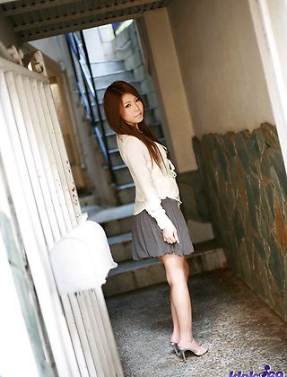 Haruka Sanada Pretty Asian Model Who Has Some Big Tits