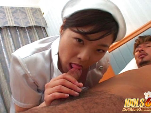 Japanese Nurse Loves Anal Sex babety Chick Just Loves Cum