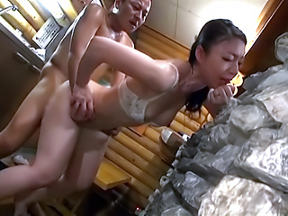 Hot cutie Takashima Heki sucks and rides properly