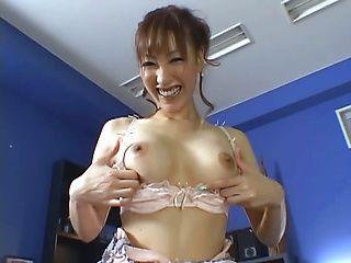 Arousing Asian milf Shinju Murasaki in hardcore pov sex