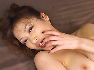 Akari Hoshino amazing Asian babe in hardcore blowjob scenes