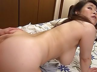 Mizuno Yoshie gets drilled wild doggystyle