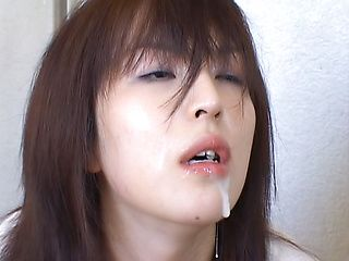 Naughty Japanese AV model is a mature babe looking for a banging