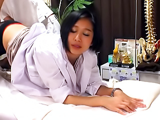 Gorgeous Asian milf moans after wild bang