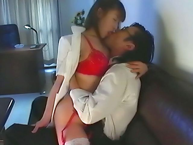 Nurse in red undies fucked until exhaustion