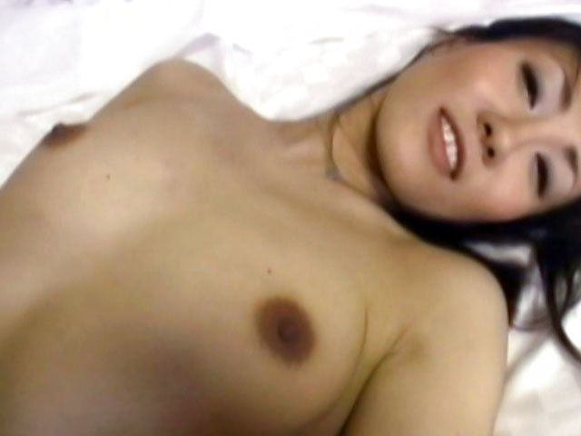 Hot mature Japanese AV Model gets her hairy pussy creamed
