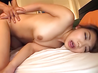 Namiki Anri gets naughty on her pink pussy