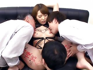 Hatano Yui gets nailed amazingly in a groupie