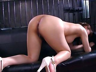 Yuuka Tachibana naughty Asian babe gets hot cumshot