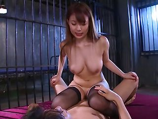 Yuuka Tachibana hot Asian milf gets doggy style fuck in group action