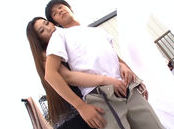 Horny Asian milf Sayuki Kanno in outdoor position 69